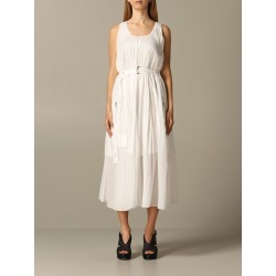 Armani Exchange Dress Armani Exchange Pleated Dress With Belt found on MODAPINS from Italist for USD $363.21