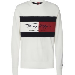 Tommy Hilfiger Tommy Hilfiger Jumper With Flag Patch found on Bargain Bro UK from Italist