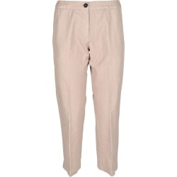 Massimo Alba Ribbed Waist Cropped Trousers found on MODAPINS from Italist for USD $306.57