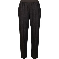 Agnona Brown Wool-silk Blend Trousers found on MODAPINS from italist.com us for USD $419.77