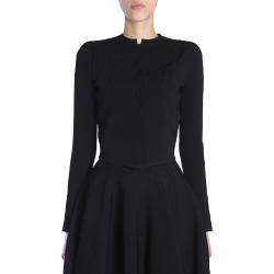 Alexander McQueen Round Collar Cardigan found on MODAPINS from italist.com us for USD $727.62