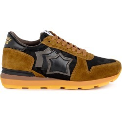 Atlantic Stars Sirius Brown Suede And Black Fabric Sneaker found on MODAPINS from italist.com us for USD $228.68