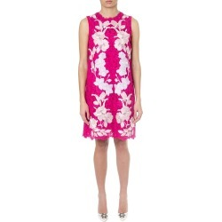 Dolce & Gabbana Fuxia Lace Dress With Floral Applications found on Bargain Bro India from italist.com us for $1454.64