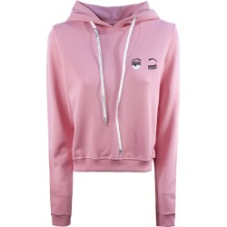 Chiara Ferragni Pink Cotton Hoodie found on MODAPINS from italist.com us for USD $217.31