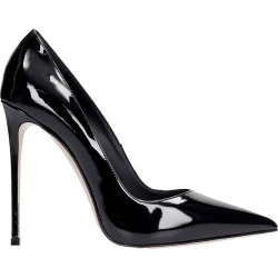 Le Silla Deco Eva 120 Pumps In Black Patent Leather found on MODAPINS from italist.com us for USD $531.00