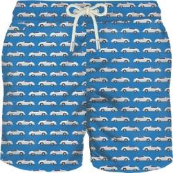 MC2 Saint Barth Micro Cars Print Light Fabric Swim Shorts found on Bargain Bro from italist.com us for USD $107.35