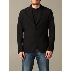 Armani Exchange Blazer Armani Exchange Single-breasted Cotton Jacket found on MODAPINS from Italist for USD $286.12