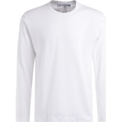 Comme Des Garçons T-shirt Long Sleeve Shirt In White Cotton found on MODAPINS from italist.com us for USD $112.82