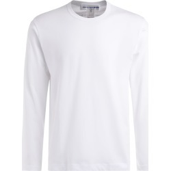 Comme Des Garçons T-shirt Long Sleeve Shirt In White Cotton found on MODAPINS from italist.com us for USD $104.45