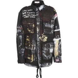 Faith Connexion Paint Splash Military Jacket found on MODAPINS from Italist for USD $950.23