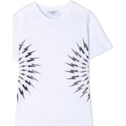Neil Barrett Print T-shirt found on MODAPINS from italist.com us for USD $92.67