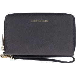 MICHAEL Michael Kors Saffiano Leather Continental Wristlet found on Bargain Bro UK from Italist