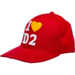 Dsquared2 I Love D2 Baseball Cap found on Bargain Bro India from italist.com us for $142.82