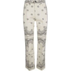 Tory Burch Printed Trousers found on Bargain Bro UK from Italist