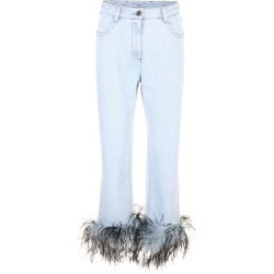 Prada Linea Rossa Jeans With Feathers found on MODAPINS from Italist for USD $732.75
