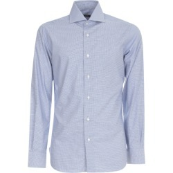 Barba Napoli Micro Vichy Shirt found on MODAPINS from italist.com us for USD $228.89