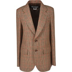 Junya Watanabe Single Breasted Stripe Check Blazer found on Bargain Bro Philippines from Italist Inc. AU/ASIA-PACIFIC for $2115.17