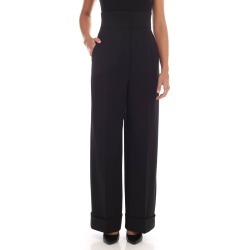 Alberta Ferretti - Trousers With Turned-up Bottom found on MODAPINS from italist.com us for USD $412.30