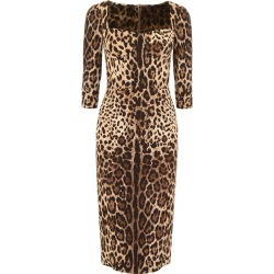 Dolce & Gabbana Leopard-printed Dress found on Bargain Bro UK from Italist