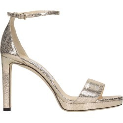 Jimmy Choo Misty 100 Sandals In Gold Leather found on Bargain Bro UK from Italist
