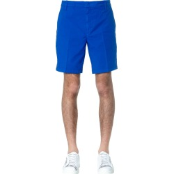 Dondup Royal Blue Manheim Cotton Shorts found on MODAPINS from Italist for USD $255.62