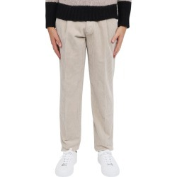Doppiaa Beige Aantioco Trousers found on MODAPINS from Italist for USD $297.39
