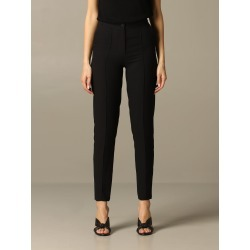 Armani Exchange Pants Armani Exchange High-waisted Crêpe Trousers found on MODAPINS from Italist for USD $209.05
