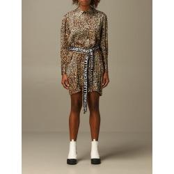 Just Cavalli Dress Just Cavalli Animal Print Chemisier Dress found on MODAPINS from italist.com us for USD $489.46