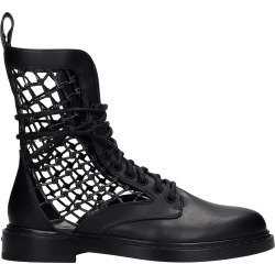 Le Silla Vanessa Combat Boots In Black Leather found on MODAPINS from italist.com us for USD $924.90