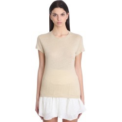 IRO Third T-shirt In Beige Cotton