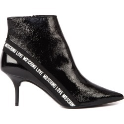 Love Moschino Black Patent Ankle Boot found on MODAPINS from Italist for USD $318.81