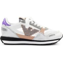 Emporio Armani Multicolor Nylon Suede Sneaker found on Bargain Bro UK from Italist
