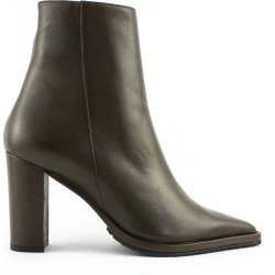 Aldo Castagna Olive Green Leather Caryn Boots found on Bargain Bro India from italist.com us for $325.36