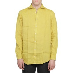 Massimo Alba Mustard Canary Shirt found on MODAPINS from italist.com us for USD $220.53