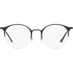Ray-Ban Ray-ban Rx3578v Matte Black On Black Glasses found on Makeup Collection from Italist for GBP 138.75