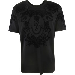 Dolce & Gabbana Brocade Crew Neck T-shirt found on Bargain Bro Philippines from Italist Inc. AU/ASIA-PACIFIC for $407.79