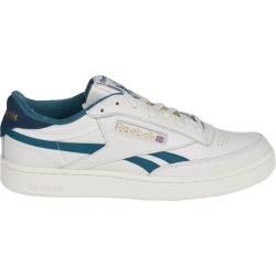 Reebok White And Green Club Revenge Sneakers