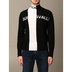 Just Cavalli Sweater Just Cavalli Pullover With Two-tone Logo found on MODAPINS from Italist for USD $427.13
