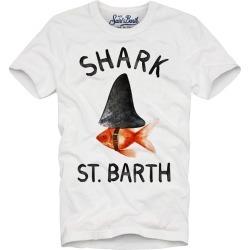 MC2 Saint Barth T-shirt Boy Fish Shark St Barth found on Bargain Bro from italist.com us for USD $64.78