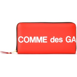 Comme Des Garçons Wallet Huge Wallet Logo Zip Around In Red Leather found on Bargain Bro UK from Italist