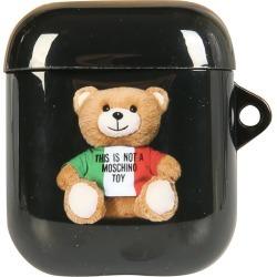 Moschino Italian Teddy Bear Airpods Holder found on Bargain Bro UK from Italist