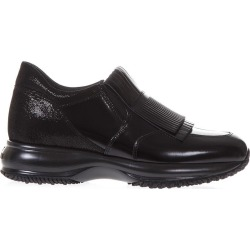 Hogan Interactive Brushed Leather & Lurex Sneakers found on Bargain Bro UK from Italist
