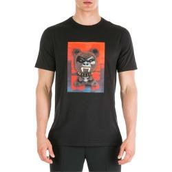 Neil Barrett Short Sleeve T-shirt Crew Neckline Jumper Fetish Bear.03 Loose Fit found on Bargain Bro UK from Italist