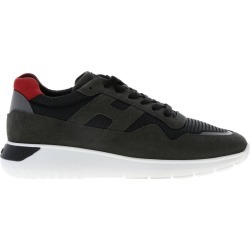 Hogan Sneakers Hogan Interactive Sneakers 3 In Suede And Macro Network With Big H