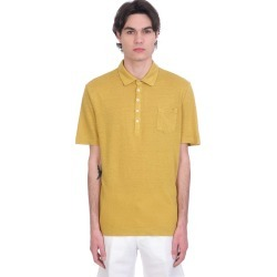 Massimo Alba Filicudi Polo In Yellow Linen found on MODAPINS from italist.com us for USD $256.75
