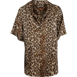 Alberto Biani Animal Print Top found on MODAPINS from Italist for USD $332.30