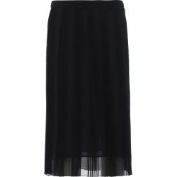 Dondup Black Pleated Georgette Skirt found on Bargain Bro India from italist.com us for $257.88