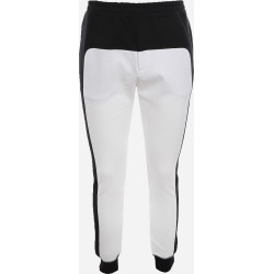 Alexander McQueen Cotton Blend Trousers With A Color-block Design found on MODAPINS from Italist for USD $761.93