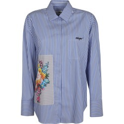 MSGM Floral Stripe Shirt found on Bargain Bro UK from Italist