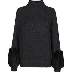 Agnona Dark Grey Cashmere Jumper found on MODAPINS from Italist for USD $1572.86